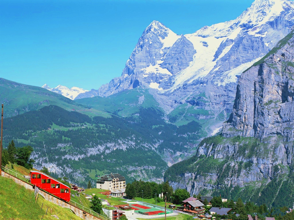 "Interlaken丨Meet the ""European Spine"" Jungfrau(1)"